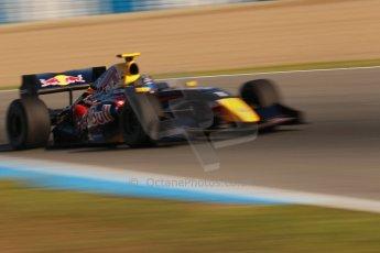 World © Octane Photographic Ltd. World Series by Renault collective test, Jerez de la Frontera, March 25th 2014. DAMS - Carlos Sainz jnr. Digital Ref : 0898cb1d6791