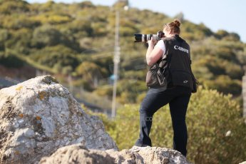 World © Octane Photographic Ltd. World Series by Renault collective test, Jerez de la Frontera, March 25th 2014. Leanne Boon at work . Digital Ref : 0898cb1d6950