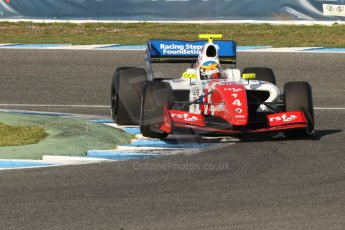 World © Octane Photographic Ltd. World Series by Renault collective test, Jerez de la Frontera, March 25th 2014. Fortec Motorsports – Oliver Rowland. Digital Ref : 0898cb7d8247