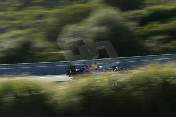 World © Octane Photographic Ltd. World Series by Renault collective test, Jerez de la Frontera, March 25th 2014. DAMS - Carlos Sainz jnr. Digital Ref : 0898lb1d8273