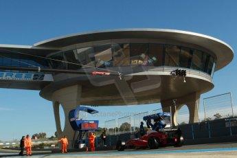 World © Octane Photographic Ltd. World Series by Renault collective test, Jerez de la Frontera, March 26th 2014. Zeta Corse. – Roberto Merhi Digital Ref : 0899cb1d7163