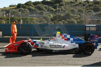 World © Octane Photographic Ltd. World Series by Renault collective test, Jerez de la Frontera, March 26th 2014. Fortec Motorsports – Oliver Rowland. Digital Ref : 0899cb1d7188
