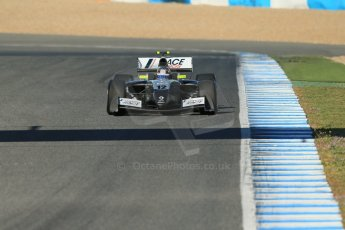 World © Octane Photographic Ltd. World Series by Renault collective test, Jerez de la Frontera, March 26th 2014. Strakka Racing – Matias Laine. Digital Ref : 0899lb1d8436