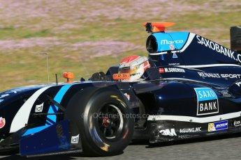orld © Octane Photographic Ltd. World Series by Renault collective test, Jerez de la Frontera, March 26th 2014. Tech 1 Racing – Marco Sorensen. Digital Ref : 0899lb1d8672