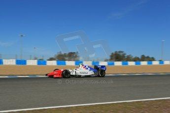 World © Octane Photographic Ltd. World Series by Renault collective test, Jerez de la Frontera, March 26th 2014. Fortec Motorsports – Oliver Rowland. Digital Ref : 0899lb1d9140