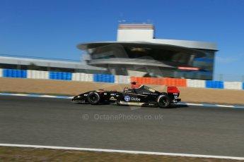 World © Octane Photographic Ltd. World Series by Renault collective test, Jerez de la Frontera, March 26th 2014. Lotus – Marlon Stockinger. Digital Ref : 0899lb1d9158