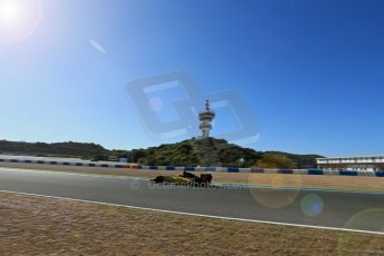 World © Octane Photographic Ltd. World Series by Renault collective test, Jerez de la Frontera, March 26th 2014. DAMS - Carlos Sainz jnr. Digital Ref : 0899lb1d9374