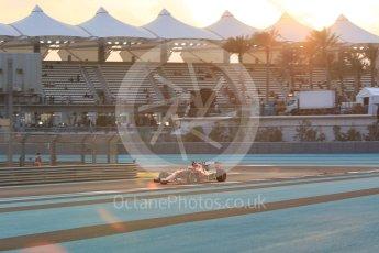 World © Octane Photographic Ltd. Scuderia Ferrari SF15-T– Kimi Raikkonen. Friday 27th November 2015, F1 Abu Dhabi Grand Prix, Practice 2, Yas Marina. Digital Ref: 1478CB1L5750