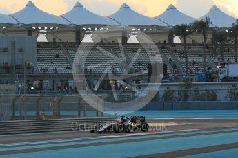 World © Octane Photographic Ltd. Sahara Force India VJM08B – Nico Hulkenberg. Friday 27th November 2015, F1 Abu Dhabi Grand Prix, Practice 2, Yas Marina. Digital Ref: 1478CB1L5789