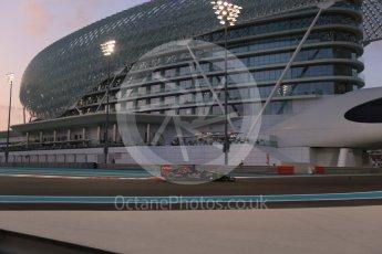 World © Octane Photographic Ltd. Scuderia Toro Rosso STR10 – Max Verstappen. Friday 27th November 2015, F1 Abu Dhabi Grand Prix, Practice 2, Yas Marina. Digital Ref: 1478LB1D7196