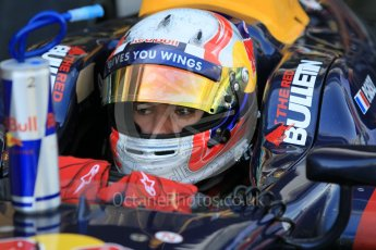 World © Octane Photographic Ltd. Friday 27th November 2015. DAMS – Pierre Gasly. GP2 Practice, Yas Marina, Abu Dhabi. Digital Ref. : 1476CB1L4850