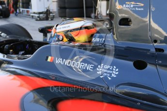 World © Octane Photographic Ltd. Friday 27th November 2015. ART Grand Prix – Stoffel Vandoorne. GP2 Practice, Yas Marina, Abu Dhabi. Digital Ref. : 1476CB7D1519