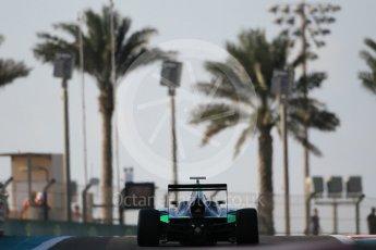World © Octane Photographic Ltd. Friday 27th November 2015. Status Grand Prix – Seb Morris. GP3 Qualifying - Yas Marina, Abu Dhabi. Digital Ref. : 1479CB1L5366