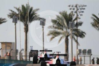 World © Octane Photographic Ltd. Friday 27th November 2015. ART Grand Prix – Esteban Ocon. GP3 Qualifying - Yas Marina, Abu Dhabi. Digital Ref. : 1479CB1L5394