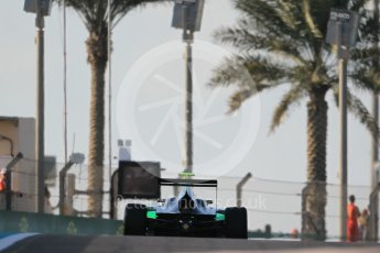 World © Octane Photographic Ltd. Friday 27th November 2015. Status Grand Prix – Alex Fontana. GP3 Qualifying - Yas Marina, Abu Dhabi. Digital Ref. : 1479CB1L5426