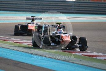World © Octane Photographic Ltd. Friday 27th November 2015. Trident – Luca Ghiotto and Michele Beretta. GP3 Qualifying - Yas Marina, Abu Dhabi. Digital Ref. : 1479CB1L5431