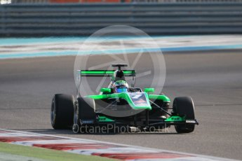 World © Octane Photographic Ltd. Friday 27th November 2015. Status Grand Prix – Seb Morris. GP3 Qualifying - Yas Marina, Abu Dhabi. Digital Ref. : 1479CB1L5452