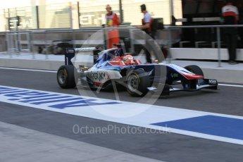 World © Octane Photographic Ltd. Friday 27th November 2015. Carlin – Antonio Fuoco. GP3 Practice - Yas Marina, Abu Dhabi. Digital Ref. :