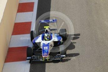World © Octane Photographic Ltd. Friday 27th November 2015. Koiranen GP – Jimmy Eriksson. GP3 Practice - Yas Marina, Abu Dhabi. Digital Ref. : 1475CB1L4572