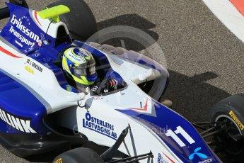 World © Octane Photographic Ltd. Friday 27th November 2015. Koiranen GP – Jimmy Eriksson. GP3 Practice - Yas Marina, Abu Dhabi. Digital Ref. : 1475CB1L4576