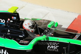 World © Octane Photographic Ltd. Friday 27th November 2015. Status Grand Prix – Alex Fontana. GP3 Practice - Yas Marina, Abu Dhabi. Digital Ref. : 1475CB1L4664