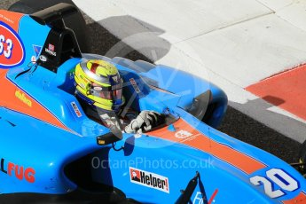 World © Octane Photographic Ltd. Friday 27th November 2015. Jenzer Motorsport – Pal Varhaug. GP3 Practice - Yas Marina, Abu Dhabi. Digital Ref. : 1475CB1L4696