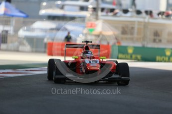 World © Octane Photographic Ltd. Friday 27th November 2015. Arden International – Emil Bernstorff. GP3 Practice - Yas Marina, Abu Dhabi. Digital Ref. : 1475LB1D5130