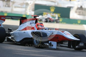 World © Octane Photographic Ltd. Friday 27th November 2015. ART Grand Prix – Esteban Ocon. GP3 Practice - Yas Marina, Abu Dhabi. Digital Ref. : 1475LB1D5210