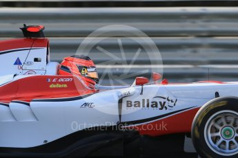 World © Octane Photographic Ltd. Friday 27th November 2015. ART Grand Prix – Esteban Ocon. GP3 Practice - Yas Marina, Abu Dhabi. Digital Ref. : 1475LB1D5217