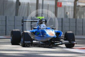 World © Octane Photographic Ltd. Friday 27th November 2015. Jenzer Motorsport – Matheo Tuscher. GP3 Practice - Yas Marina, Abu Dhabi. Digital Ref. : 1475LB1D5563