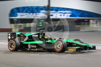 World © Octane Photographic Ltd. Friday 27th November 2015. Status Grand Prix – Marlon Stockinger. GP2 Qualifying, Yas Marina, Abu Dhabi. Digital Ref. : 1481CB1L6032