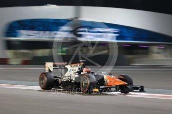 World © Octane Photographic Ltd. Friday 27th November 2015. Trident – Raffaele Marciello. GP2 Qualifying, Yas Marina, Abu Dhabi. Digital Ref. : 1481CB1L6078