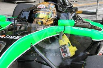 World © Octane Photographic Ltd. Saturday 28th November 2015. Status Grand Prix – Sandy Stuvik. GP3 Race 1 - Yas Marina, Abu Dhabi. Digital Ref. :