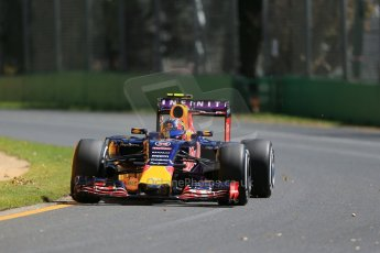 World © Octane Photographic Ltd. Infiniti Red Bull Racing RB11 – Daniil Kvyat. Friday 13th March 2015, F1 Australian GP Practice 1, Melbourne, Albert Park, Australia. Digital Ref: 1200LB1D5499