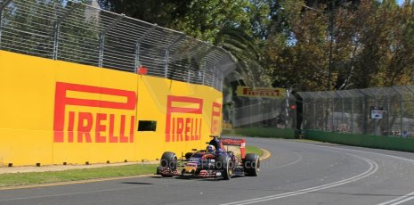 World © Octane Photographic Ltd. Scuderia Toro Rosso STR10 – Carlos Sainz Jnr. Friday 13th March 2015, F1 Australian GP Practice 1, Melbourne, Albert Park, Australia. Digital Ref: 1200LW1L5881