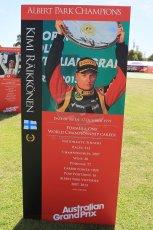 World © Octane Photographic Ltd. Wednesday 11th March 2015, F1 Australian GP, Melbourne, Albert Park, Australia, Kimi Raikkonen. Digital Ref: 1197LW1L5564