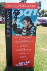 World © Octane Photographic Ltd. Wednesday 11th March 2015, F1 Australian GP, Melbourne, Albert Park, Australia, Alan Jones. Digital Ref: 1197LW1L5595