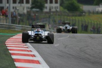 World © Octane Photographic Ltd. Williams Martini Racing FW37 – Felipe Massa. Friday 19th June 2015, F1 Austrian GP Practice 1, Red Bull Ring, Spielberg, Austria. Digital Ref: 1304LB1D5377