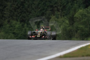 World © Octane Photographic Ltd. Lotus F1 Team E23 Hybrid – Pastor Maldonado. Friday 19th June 2015, F1 Austrian GP Practice 1, Red Bull Ring, Spielberg, Austria. Digital Ref: 1304LB1D5737