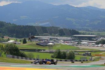 World © Octane Photographic Ltd. Sauber F1 Team C34-Ferrari – Felipe Nasr. Friday 19th June 2015, F1 Austrian GP Practice 1 Red Bull Ring, Spielberg, Austria. Digital Ref: 1304LW1L2519