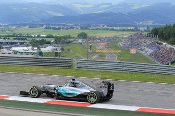 World © Octane Photographic Ltd. Mercedes AMG Petronas F1 W06 Hybrid – Lewis Hamilton. Friday 19th June 2015, F1 Austrian GP Practice 1, Red Bull Ring, Spielberg, Austria. Digital Ref: 1304LW1L2751