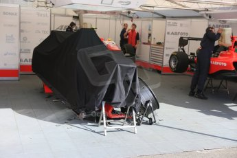 World © Octane Photographic Ltd. Sunday 21st June 2015. Arden International – Kevin Ceccon will not start today's race due to damage sustained in race 1. GP3 Race 2 – Red Bull Ring, Spielberg, Austria. Digital Ref. : 1316CB5D5313