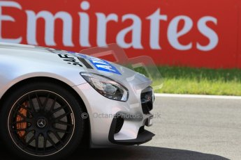 World © Octane Photographic Ltd. Sunday 21st June 2015. Mercedes AMG GTs Safety Car. GP3 Race 2 – Red Bull Ring, Spielberg, Austria. Digital Ref. : 1316CB7D6833