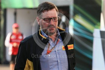 World © Octane Photographic Ltd. Pirelli head of motorsport - Paul Hembrey. Friday 21st August 2015, F1 Belgian GP Paddock, Spa-Francorchamps, Belgium. Digital Ref: 1379LB1D7610