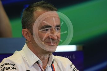 World © Octane Photographic Ltd. FIA Team Personnel Press Conference. Friday 21st August 2015, F1 Belgian GP, Spa-Francorchamps, Belgium. Paddy Lowe - Mercedes AMG Petronas Executive Director (Technical). Digital Ref: 1377LB1D8719