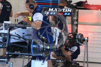 World © Octane Photographic Ltd. Williams Martini Racing FW37 – Felipe Massa. Thursday 20th August 2015, F1 Belgian GP Pitlane, Spa-Francorchamps, Belgium. Digital Ref: 1370LB1D6787