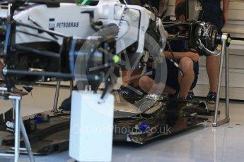 World © Octane Photographic Ltd. Williams Martini Racing FW37 – Felipe Massa. Thursday 20th August 2015, F1 Belgian GP Pitlane, Spa-Francorchamps, Belgium. Digital Ref: 1370LB1D6807
