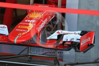 World © Octane Photographic Ltd. Scuderia Ferrari SF15-T– Sebastian Vettel. Thursday 20th August 2015, F1 Belgian GP Pitlane, Spa-Francorchamps, Belgium. Digital Ref: 1370LB1D6852