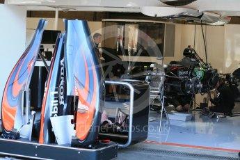 World © Octane Photographic Ltd. McLaren Honda MP4/30. Thursday 20th August 2015, F1 Belgian GP Pitlane, Spa-Francorchamps, Belgium. Digital Ref: 1370LB1D6904