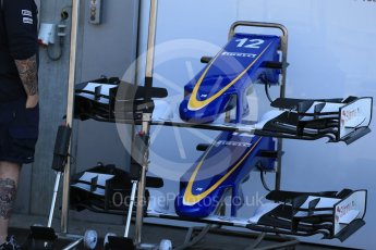 World © Octane Photographic Ltd. Sauber F1 Team C34-Ferrari – Felipe Nasr. Thursday 20th August 2015, F1 Belgian GP Pitlane, Spa-Francorchamps, Belgium. Digital Ref: 1370LB1D7100